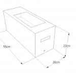 Stereometr - wymiary